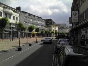 Winziger Platz