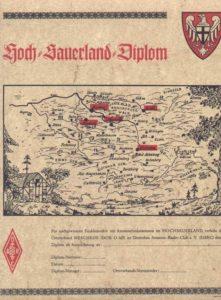 Hochsauerland Diplom